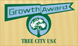 Growth Award by Tree City USA