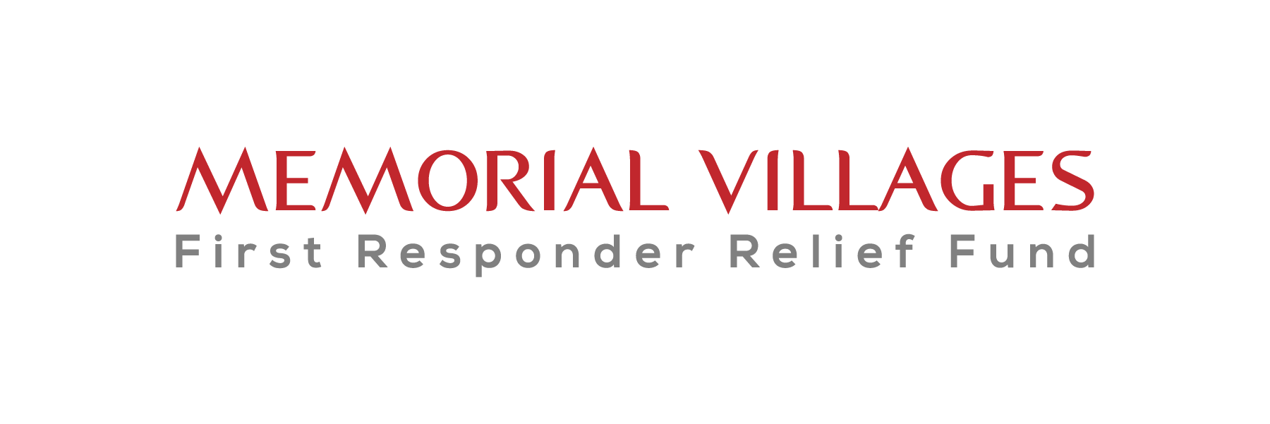 Memorial Villages First Responder Relief Fund